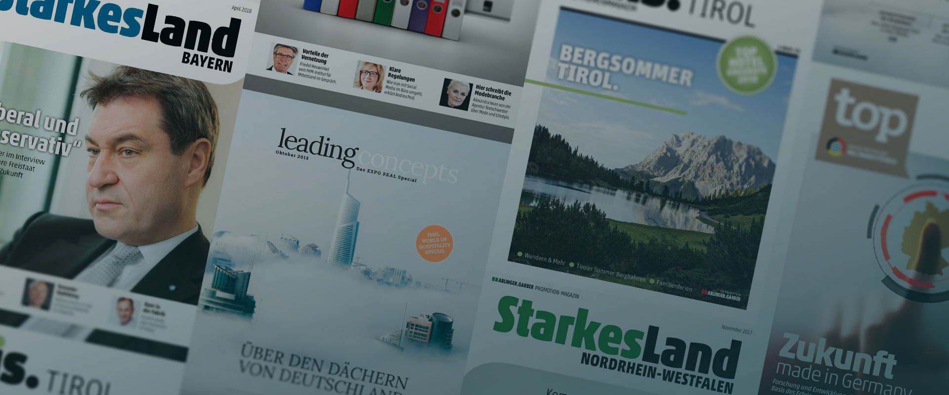 Ablinger Garber - Wir Schaffen Umfeld - Magazine