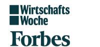 top - Trägermagazine Wirtschaftswoche und Forbes China